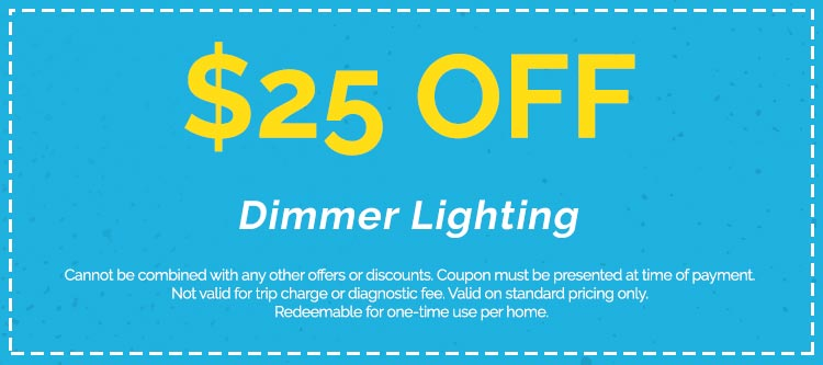 Discounts on Dimmer Lighting