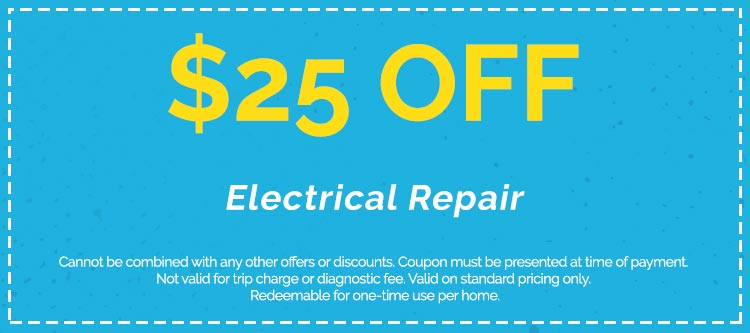 Electrical Repair Services Coupon