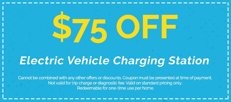 Discounts on Electric Vehicle Charging Station