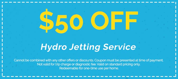 Hydro Jetting Services Coupon