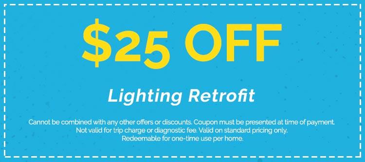 Discounts on Lighting Retrofit