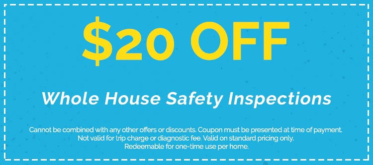 Whole House Safety Inspections Coupon