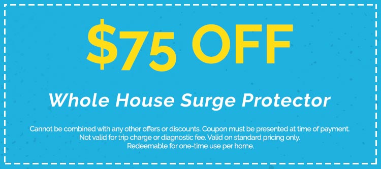Discounts on Whole House Surge Protector